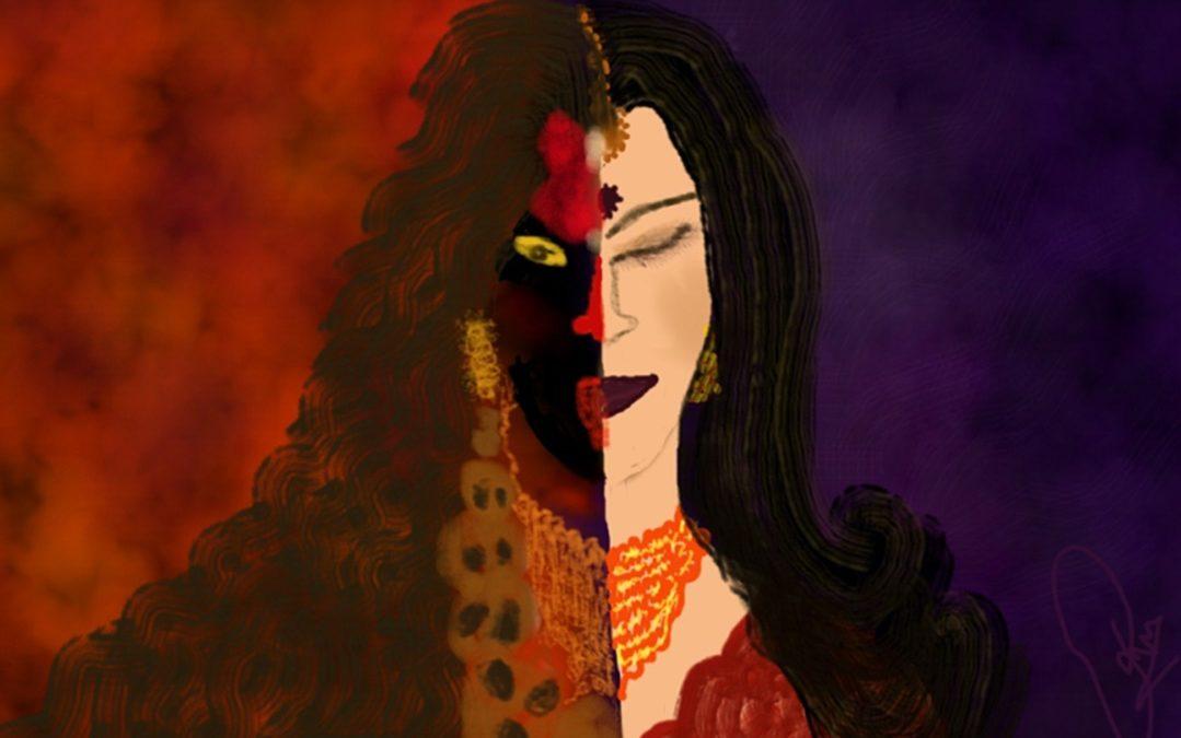 Pełna paradoksów jest Kali. Ale to w nich jest kompletna.